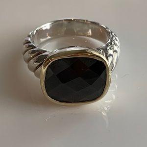 David Yurman Noblesse Black Onyx Ring